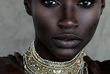 Dark skinned beauty