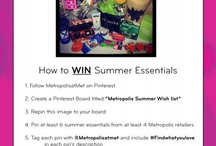 Metropolis Summer Wish list