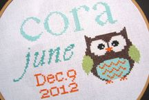 cross stitch / by Melissa Eggleston