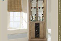 corner cabinets / by Melissa Hicks