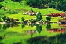 Lugares que soñamos visitar / Lugares del mundo que queremos visitar en pareja.