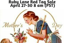 Ruby Lane Spring Red Tag Sale / Celebrate spring and Mother's Day! Shop the Ruby Red Tag Sale on Ruby Lane.  The Red Tag sale only lasts 72 hours with 30% off selected items by the shop keepers of some of the most fabulous shops on Ruby Lane. The Sale begins on Friday, April 27th at 8am Pacific Time (PDT), and goes through 8am (PDT) on Monday, April 30th! All Items in this sale will be at least 30% Off! #ShopOwnersofRubyLane #RubyLane #RubyRedTagSale #MothersDay #Vintage #Antiques #RRTS #MothersDay #vintagebeginshere