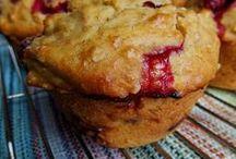 muffins canneberge