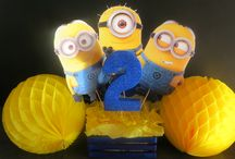 Despicable Me Minions / Minion Cakes, Party Decor and Sweet Treats