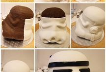 Carved cakes