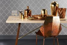 Brass In Your Home / Predicted to be the new interiors trend for 2016, beautiful, warm and honest, brass has been a favourite of ours for a long time.