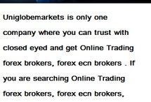 online forex trading company