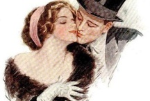 Vintage - Harrison Fisher Illustrations