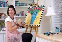 Emma's art studio