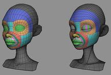 3D Modeling material