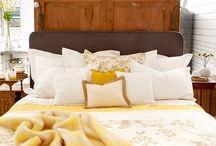 Sypialnia. / Niektóre miłe inspiracje.