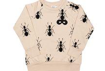 INSEKTER / Diverse insekter og ide til print