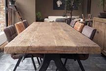 Stoly drewniane