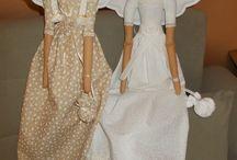 panenky / šité hračky,šité dekorace,mé tvoření...