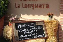 Photocall / Síguenos y llévate una polaroid!!