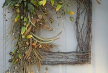 Thanksgiving Yard and Door Decor