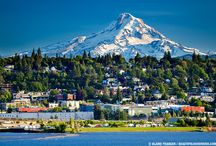 Downtown Hood River / Here in downtown Hood River, you'll find restaurants, shops, ice cream, bike rentals, gear shops, and more -  All within an easy walk of the hotel!