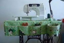 Capa de máquina de costura