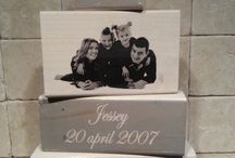 Handmade Wooden blocks / www.facebook.nl/bordvoorjekop