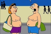 Funny Older People Cartoons