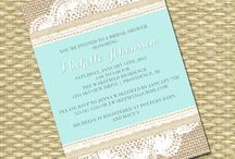 invitations / by Jill Johnson