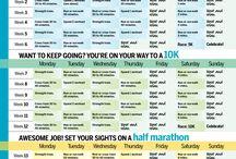 Half marathon training / by Gina Callari Dziechiasz