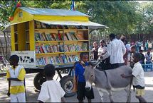 80 mobile libraries around the block / Inventive ways to spread the words around!