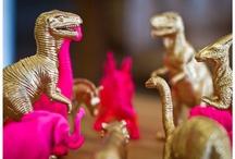 figuras plasticas pintadas