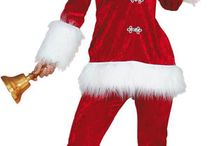 Costume Mère Noël