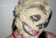 Special effects makeup / This is using addicts to makeup or face paint