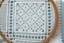 Drawn Thread and Pulled Thread
