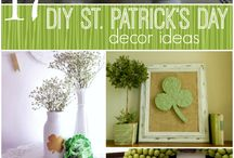 St. Patrick's Day / St. Patrick's Day Decorating and Ideas