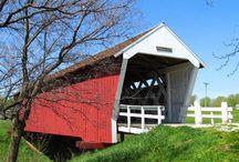 Covered Bridges / Historic covered bridges of the world.