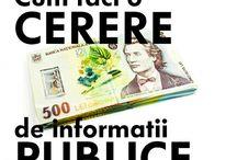 acces la informatii de interes public