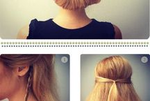 Easy hair stile