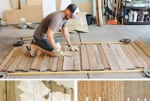 Panneaux en bois de palette