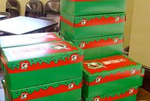 Operation Christmas Child / Shoebox ministry / by Donna Murphy