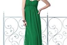 pretty green dresses