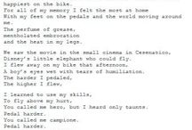 suicide letter cyclist