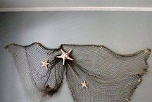 Fishing nets decor