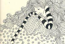 Illustration- Ilustraciones / #illustration #lisacongdon #dibujos #ilustraciones #sketchbook