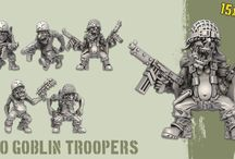 The Green Alliance / A place collecting pics of the models / concepts for the US WW2 themed Orc & Gobins army project.