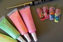 Nail Art BrillBird