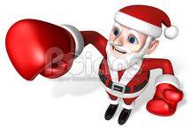 3D Santa Character / Boians PNG 3D Santa Character Series.