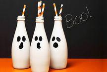 Decoração de Halloween / Em busca de decorações baratas para a festa de Halloween dos divinos.