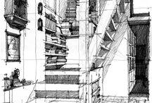 Interior sketche