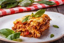 Lasagnes / Les lasagnes sont un des plats préférés des français, aussi avons-vous sélectionné les recettes de lasagnes les plus traditionnelles, originales et/ou déstructurées pour figurer ici et vous régaler.