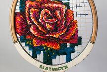 Upcycle / tennis racket artSend Board