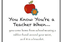 You Are TOTALLY a Teacher if.... / Funny teacher quotes, sayings, pictures, and ideas.  Perfect for all teachers who just want a laugh!