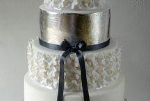 Svadobné / Domáce - tradičné svadobné torty.